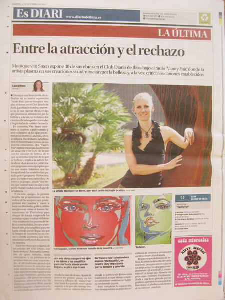 Arte en EsDiari de Ibiza