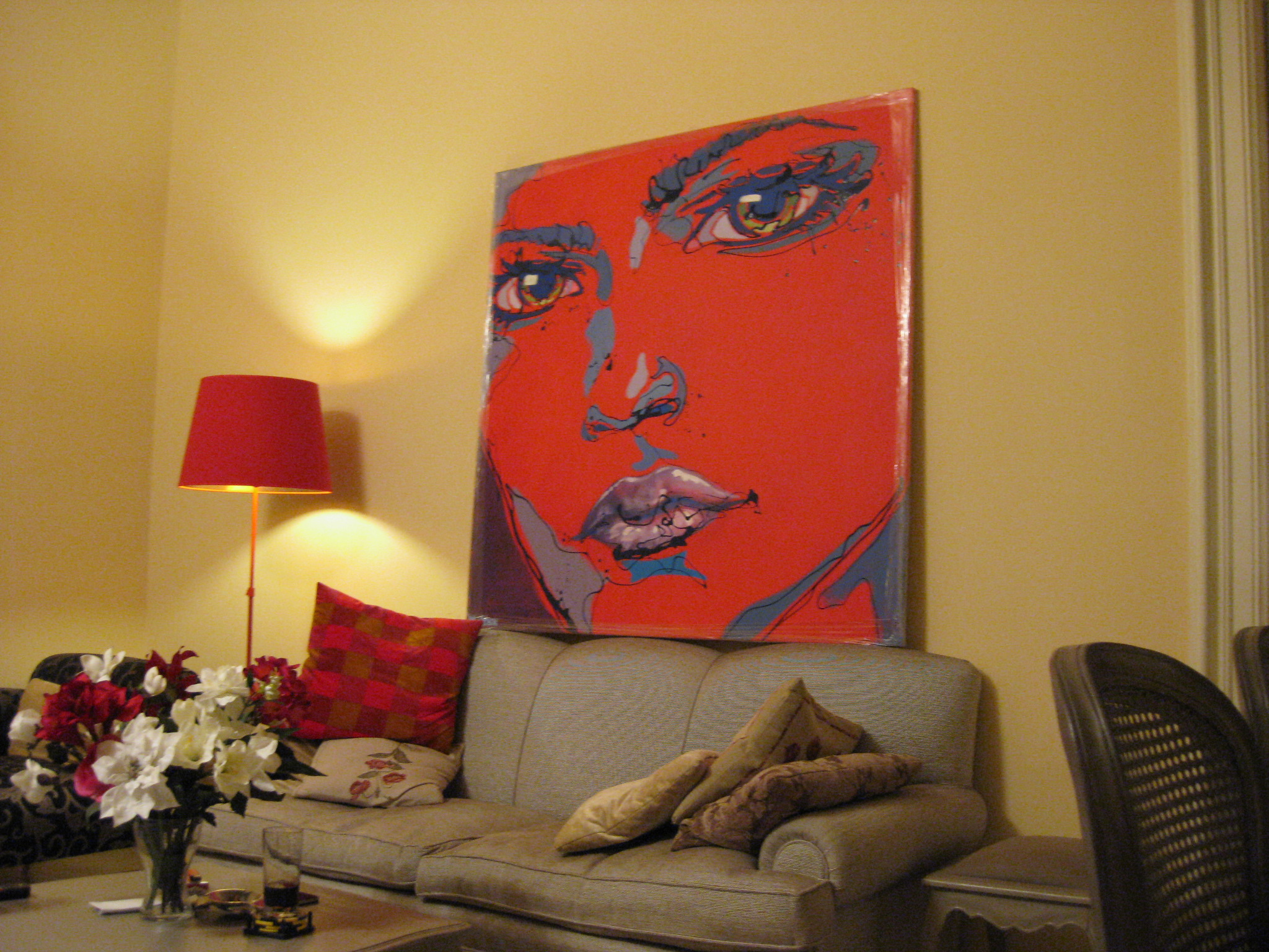 big_red_painting_at_home